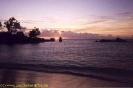 Sonnenuntergang an der Petite Anse Kerlan
