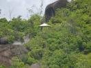 Schutzhütte auf dem Weg zur Anse Major